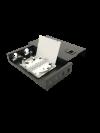 4PORT LC DUPLEX  LIU BOX PATCH PANEL FIBER OPTIC