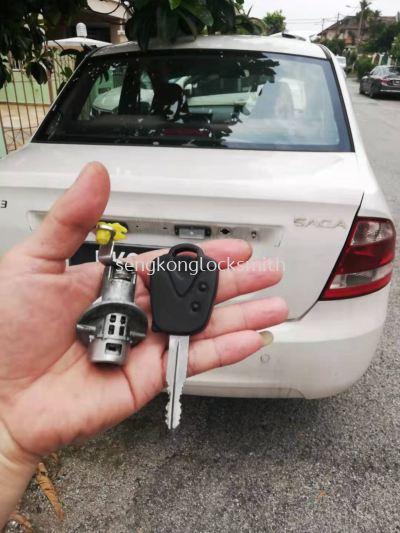 Repair proton car lock