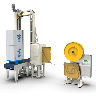 Side strapping machines
