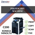 Konica Minolta Bizhub C200 Color Photocopier Machine