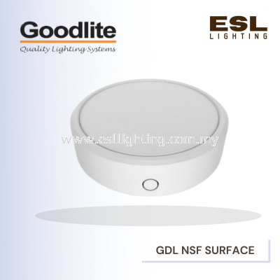 GOODLITE ROUND SURFACE MOUNTED LED DOWNLIGHT GDL NSF