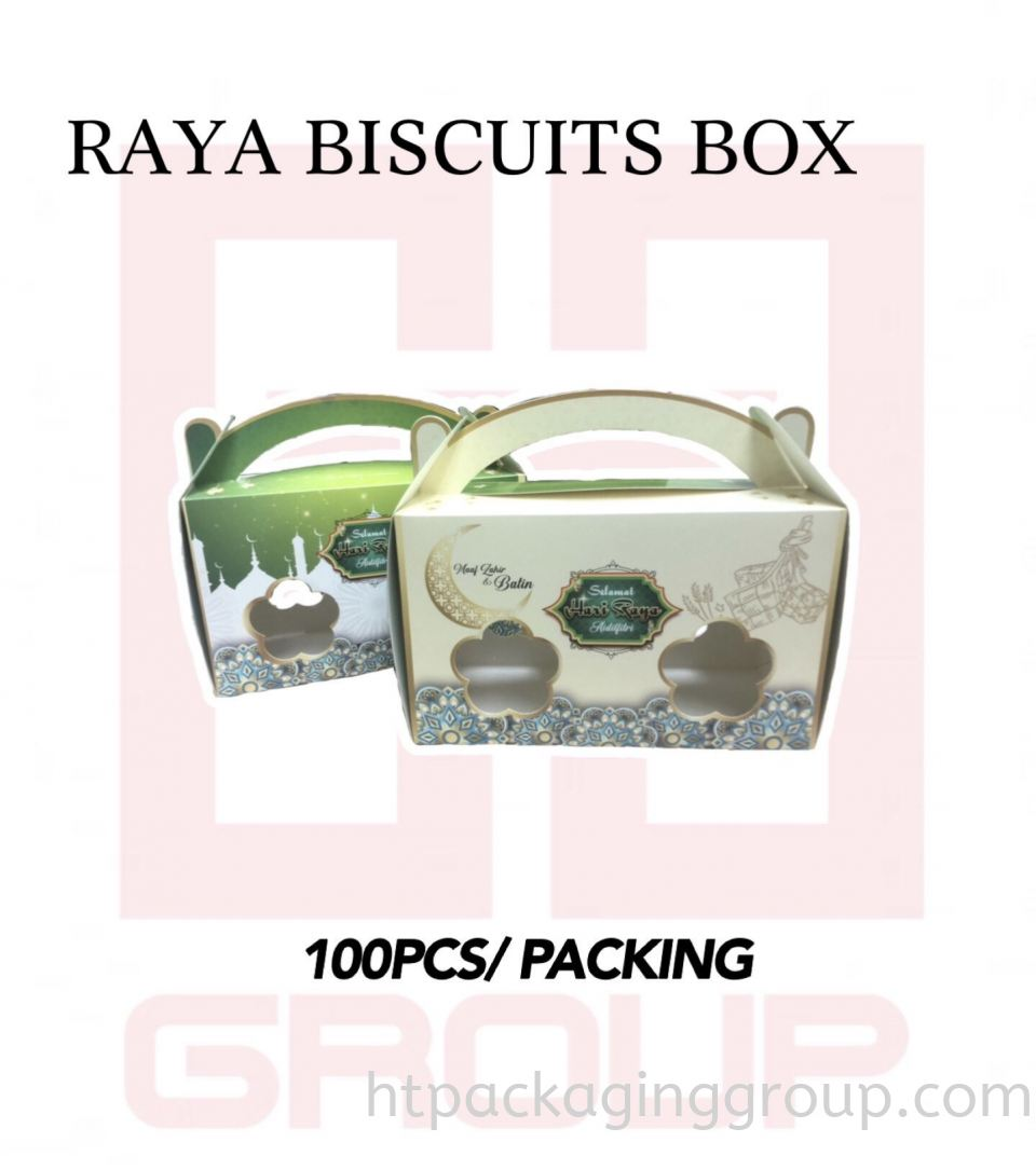 RAYA BISCUITS BOX  RAYA SPECIAL EDITION READY MADE
