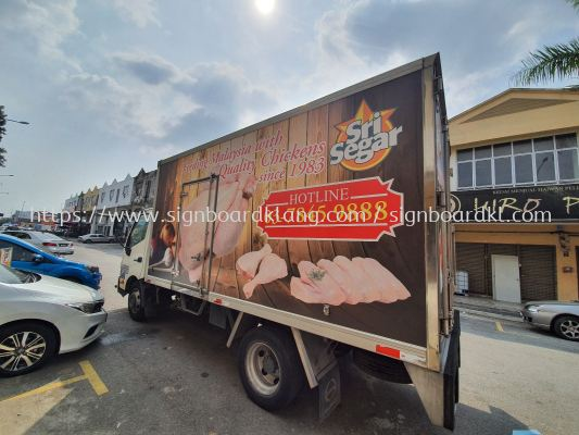 Sri segar truck lorry sticker