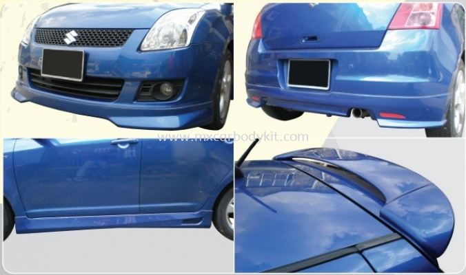 SUZUKI SWIFT 2008 - 2011 RSR BODYKIT