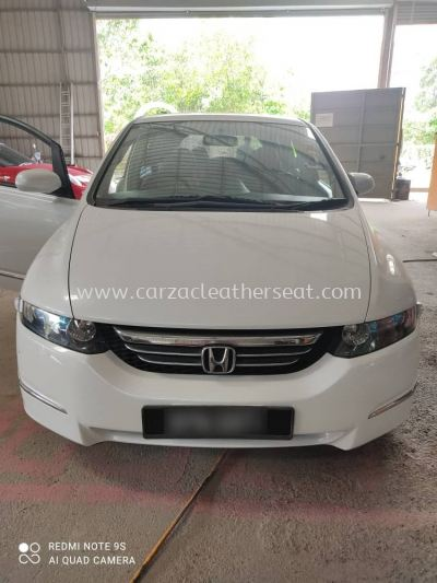 HONDA ODYSSEY STEERING WHEEL REPLACE SYNTHETIC LEATHER