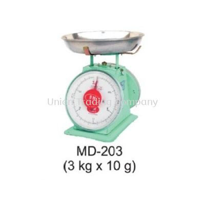 MD-203 (3kg x 10g) Mechanical Spring Scale