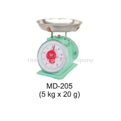 MD-205 (5kg x 20g) Mechanical Spring Scale