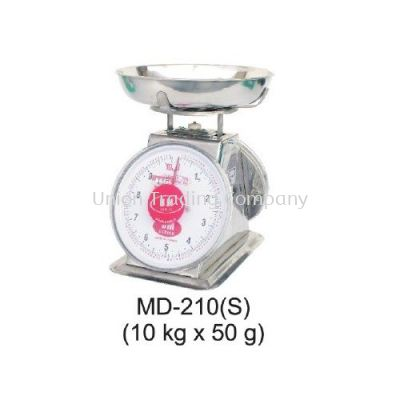 MD-210(S) (10kg x 50g) Mechanical Spring Scale