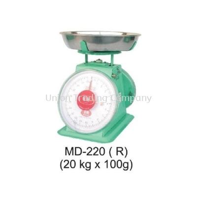 MD-220(R) (20kg x 100g) Mechanical Spring Scale