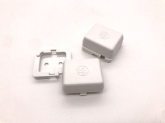 WHITE SMALL ALARM JUNCTION BOX