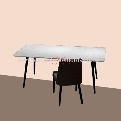 Sivec White | Greece | 6 seaters | Dining Table only | RM3,599