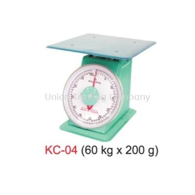 KC-04 (60kg x 200g) Mechanical Spring Scale
