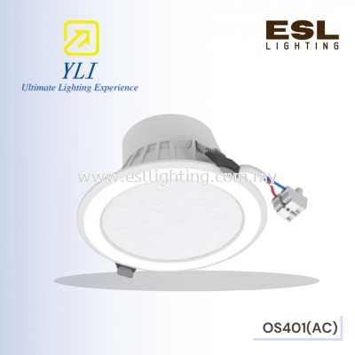 YLI OS 401 (AC) 10W OASIS 01 Series Recessed Ceiling Mounted Round LED Downlight