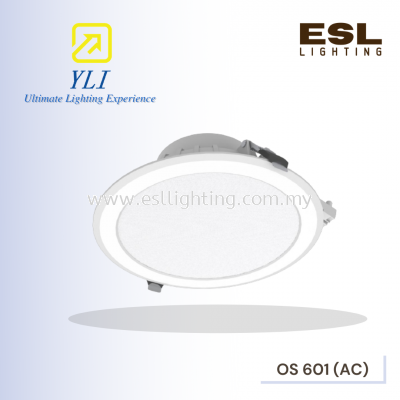 YLI OS 601 (AC) OASIS 01 SERIES RECESSED ROUND LED DOWNLIGHT