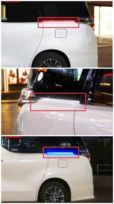 Car Turn Light Led (RED/BLUE/WHITE) [YH631]