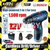 BOSCH GSR120-LI Cordless Drill 12v + 1 x 2.0Ah Battery & Tool Box Bosch Power Tool