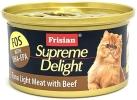 72527E SUPREME DELIGHT TUNA LIGHT MEAT with BEEF 85g Supreme Delight  Frisian