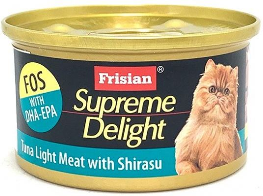 72520E SUPREME DELIGHT TUNA LIGHT MEAT WITH SHIRASU 85g