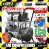 EuropaHilt ABL1024 OIL FREE AIR COMPRESSOR  1.0HP 750w 24LITER 8 Bar 116PSI 100% Copper Wired Motor Europa Hilt Air Compressor