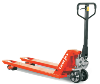 35mm GEOLIFT Super Low Profile Hand Pallet Truck - AC10SLP (Germany Hydraulic Pump System)