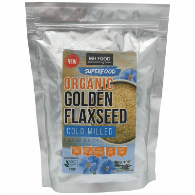 MH Food Org Golden Flaxseed Cold Milled