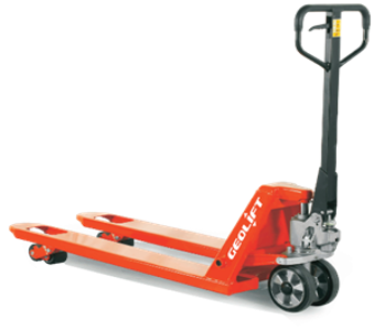 1 ton GEOLIFT Super Low Profile Hand Pallet Truck - AC10SLP (Germany Hydraulic Pump System)