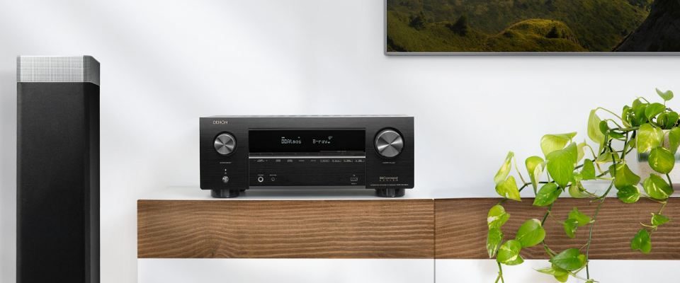 DENON  AVR-X2700H 7.2ch 8K AV Receiver with 3D Audio, Voice Control and HEOS Built-in®