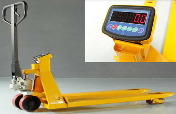 2.5 tons GEOLIFT HP Weight Scale Pallet Truck - AC25WS Series (Germany Hydraulic Pump System)