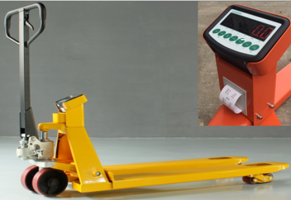 3 tons GEOLIFT HP Weight Scale Pallet Truck - AC30WSP Series (Germany Hydraulic Pump System)