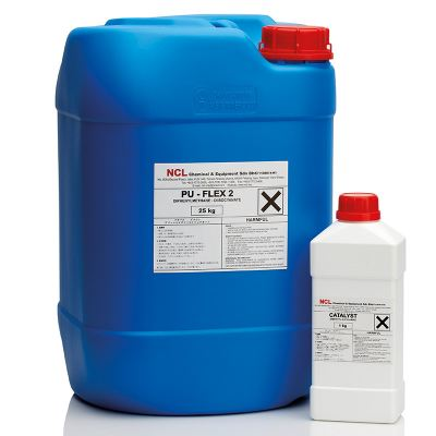NCL PU FLEX-2 Two-Component Semi-Flexible Injection Resin