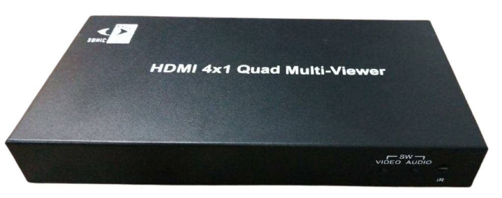 HDMI MULTI-VIEWER 1 IN 4 OUT 1080p WITH REMOTE CONTROL