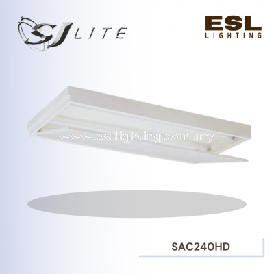SJLITE RECESSED T-BAR DIFFUSED FITTING HINGED (IMPERIAL)