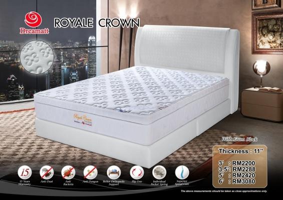 Dreamatt Mattress - Royale Crown