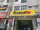 giant speed aluminium box up 3d led frontlit lettering  signage signboard at klang 3D BOX UP LETTERING