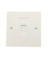 A - SINGLE PORT  FACE PLATE FACEPLATE Network