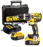 DCD796M2 20V BRUSLESS COMPACT HAMMER DRILL DRIVER
