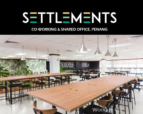 Settlements | Co Working Space, Georgetown, Penang