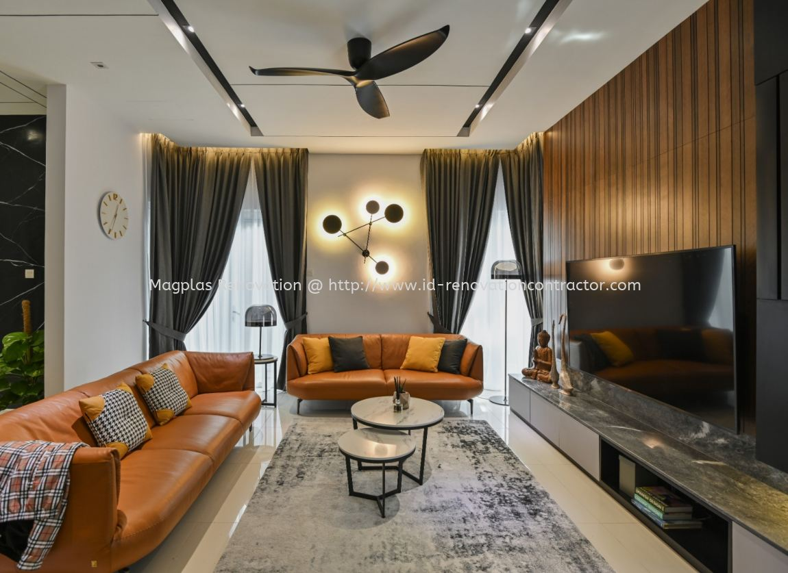 Beverly Height Semi D / Bungalow Interior Design Residential
