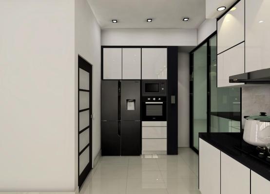 Glass Door Kitchen Cabinet Refer - LAKEVIEW ,BERTAM