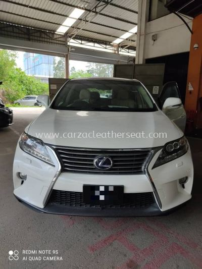 LEXUS RX SEAT REPLACE SYNTHETIC LEATHER