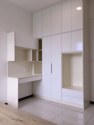 Wardrobe With Dressing Table Refer -  LUMINERI