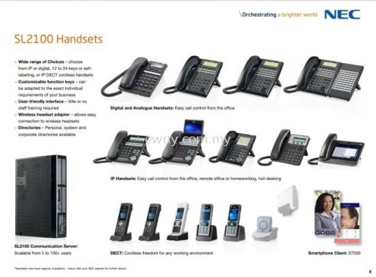 NEC IP Phone set