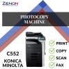 Konica Minolta Bizhub C552 Color Photocopier Machine OFFICE & DESIGNER USED
