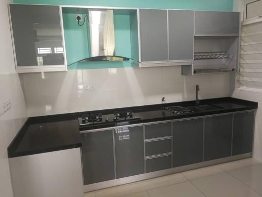 Glass Door Kitchen Cabinet Design Refer