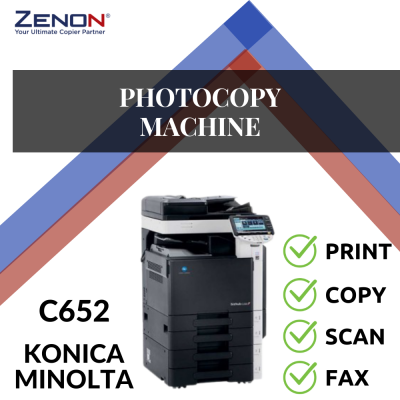 Konica Minolta Bizhub C652 Color Photocopier Machine