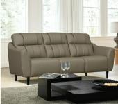 Fabrics Leather PU 3 Seater Sofa Iconic