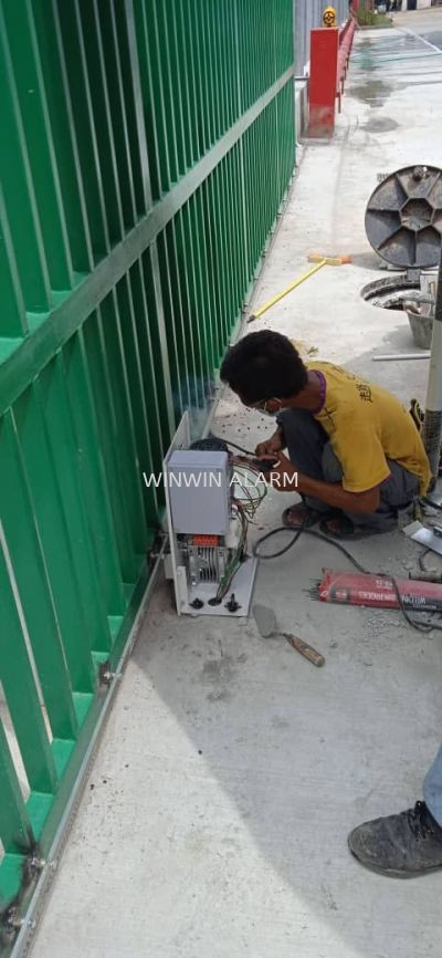 Installation of Autogate