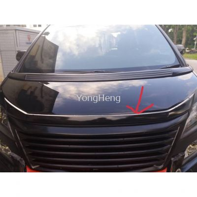 Vellfire Front Bonnet Chrome [TV569]