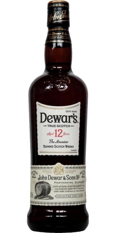 Dewar's 12 Year Old - The Ancestor