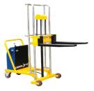 GEOLIFT Counter Balance Electric Platform Stacker - CBEPS2511 (Germany Hydraulic Pump System)